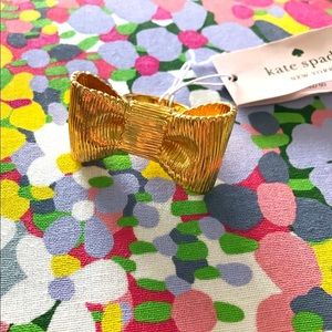 BNWT⎜kate spade⎜all wrapped up statement ring⎜gold